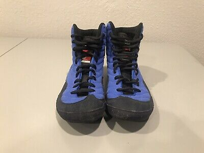 Nike Rare Blue OG Inflict Wrestling Shoes Size 7.5                  *D*