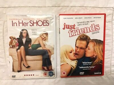 Just Friends - In Her Shoes Movie Dvd  Bundle **** Cameron Dias   ****