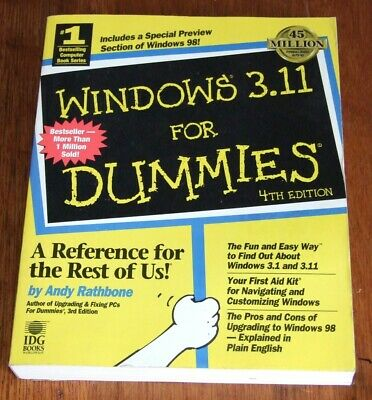 Book: Windows for Workgroups 3.11 For Dummies 4th Edition