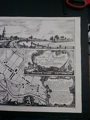 Vintage First Map Plan Of Whupperfeld #321