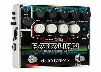 Electro-Harmonix Battalion Bass Preamp & DI GENTLY USED