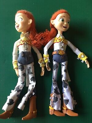 Toy Story Lot Of 2 Jessie Talking Dolls