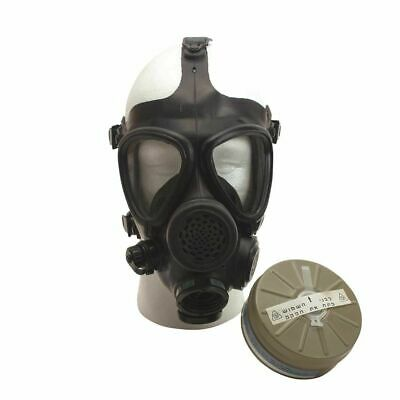 NEW Isreali Gas Mask with Water kit and Voice Diaphram