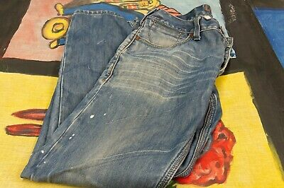 Vintage Blue Jeans, Levis 514 slim straight Fit. Perfectly faded,red tab