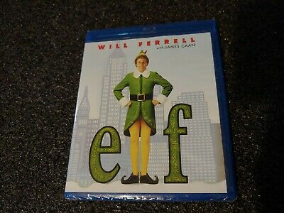 Elf~Will Ferrell w/James Caan (Blu-ray) NEW