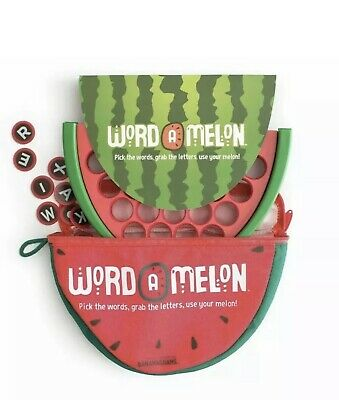Word A Melon by Bananagrams Word Game New Family Travel