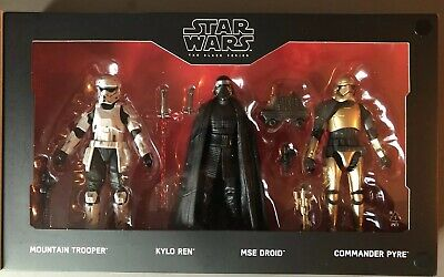 """Star Wars Galaxy's Edge First Order 4-Pack  The Black Series 6"""""""