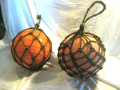 Vintage Large Plastic Fishing Buoys