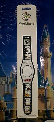 NEW Disney Parks 2020 Mickey Mouse Pluto Oh Boy! Cartoon Magic Band LINKABLE