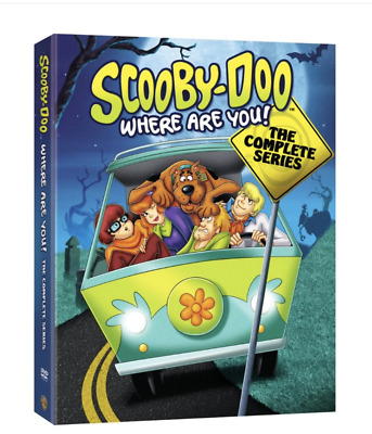 SCOOBY-DOO, WHERE ARE YOU COMPLETE SERIES  (DVD, 7-Disc Set)