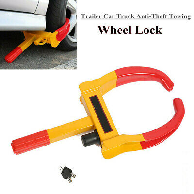 Car SUV Wheel Lock Clamp Boot Tire Claw Trailer Auto Car Truck Anti-Theft Towing