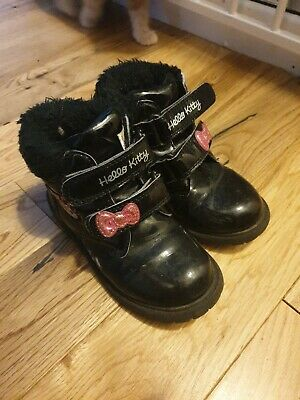 Girl hello kitty boots infant size 9