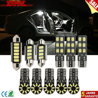 SMD LED Innenraumbeleuchtung komplett Set VW Bora Xenon Weiss Limo Variant
