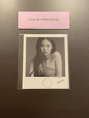 BLACKPINK - Kill This Love (Japan) - Official JENNIE Polaroid Photocard