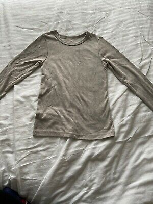 Boys Girls Thermal Long Sleeve Top Skin Base Layer Age 8-9Years
