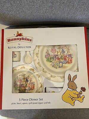 Royal Doulton Bunnykins Baby Dinner Set