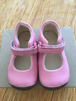 Clarks Baby Girls Shoes 3 1/2 G / 3.5 G