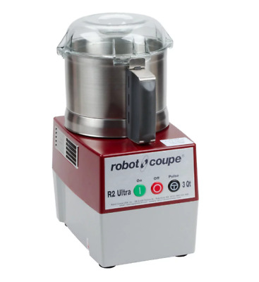 New Robot Coupe R2N Ultra B Food Processor With 3 Qt Stainless Steel Bowl