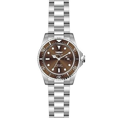 Invicta Pro Diver Brown Dial Stainless Steel Men's Watch 22049