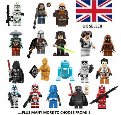 Lego Star Wars Mini-Figs & Custom Mini-Figs, Mandalorian Mini-Figures, Uk Seller