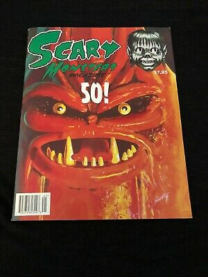 Scary Monsters Magazine #50 First Horror Film Issue Horror Macabre Frankenstein