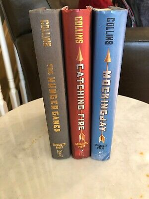 The Hunger Games Trilogy by Suzanne Collins Complete 3-Volume Hardcover Set
