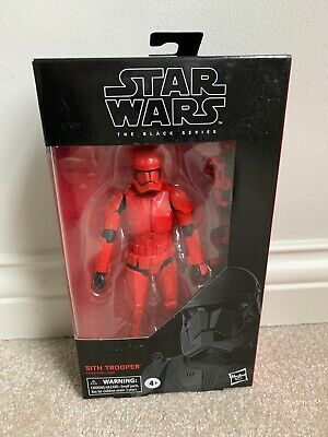 "Star Wars Black Series: Sith Trooper The Rise of Skywalker 6"" Figure MIB"