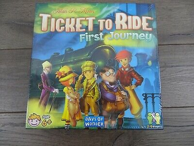 Ticket to Ride - First Journey (Game Board)