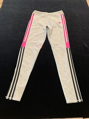 adidas climalite Leggings child size XL 16 activewear girls
