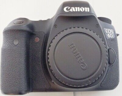 Canon EOS 6D 20.2 MP CMOS Digital SLR Camera with 3.0-Inch LCD, Body Only