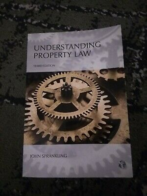 Understanding Property Law by John G. Sprankling FREE SHIPPING