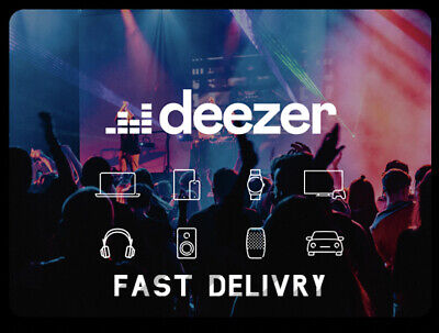 🔥🎧Deezer Family 3 Months (personal account) Fast delievry Music Subscription