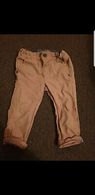 Baby Boys Chino Style Trousers From Next 6-9 Months