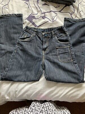 Boys Straight Leg Denim Jeans Size 12 Years