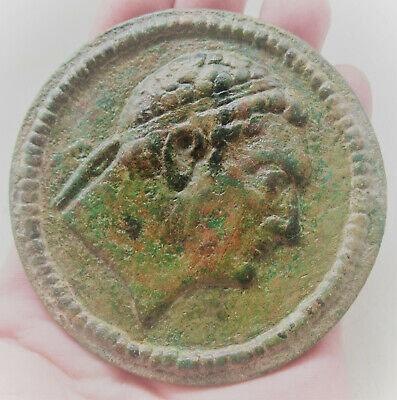 Very Interesting Ancient Greek Bronze Token, Further Research Required