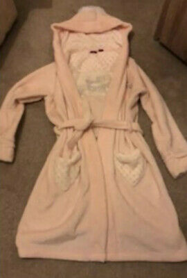 Pink Disney Princess Dressing Gown Age 11-12