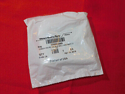 Brand New Waters Check Valve, Double Ball and Seat, 2/pk; 700002968