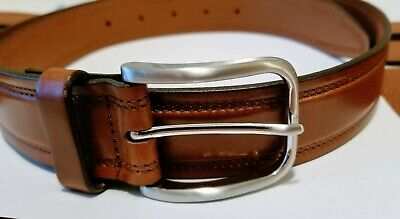 Johnston & Murphy - Men's Leather Belt - $59.50 - NWOT - Made in USA