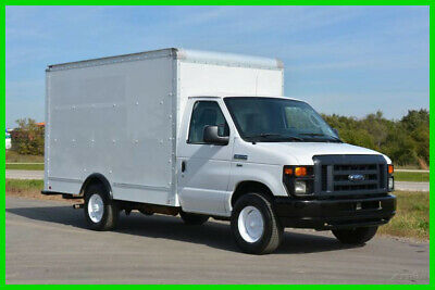 2012 Ford E-350 12ft Box Truck Former Budget Rental Truck and Fleet Maintained