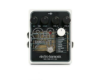 EHX Electro Harmonix BASS9 Bass Machine effects pedal