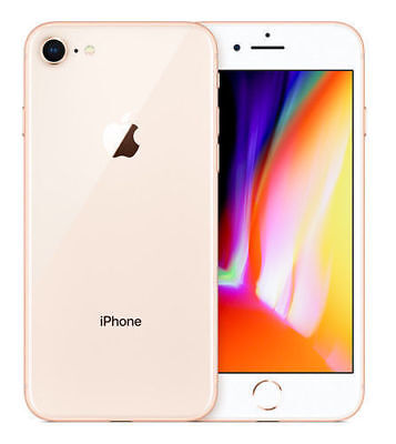 Apple iPhone 8 - 256GB - Gold Verizon (CDMA + GSM) AT&T Tmobile Unlocked - New