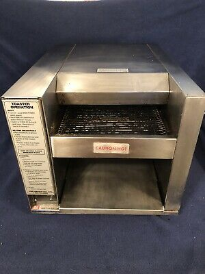 APW American Permanent Ware Wyott AT-10 Commercial Conveyor Toaster    🤑FS&H🤑