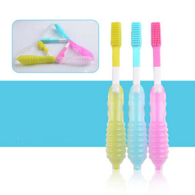 Portable Foldable Tooth Brush Outdoor Travel Camping Toothbrush Travel Goods HD