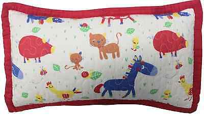 Rectangle Decorator Cushion Farmyard Boys Girls Nursery Bedroom Decor