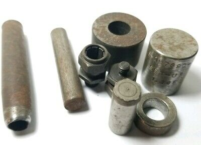 Vintage heavy lathe machinist Engineer tool parts watchmakers estate #lot2012