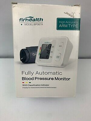 Firhealth Fully Automatic blood Pressure monitor high accuracy arm model BP 367A