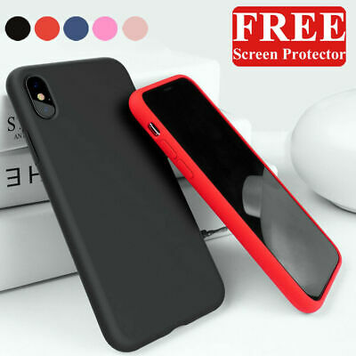 Luxury Liquid Soft Silicone Case Cover For iPhone 11 Pro XS Max XR 6 7 8 Plus SE