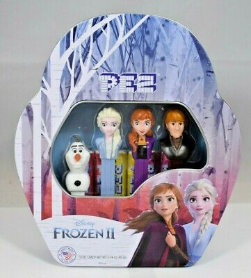 Pez Collectibles - Disney Frozen 2 Limited Edition Collectible Dispensers w/Tin