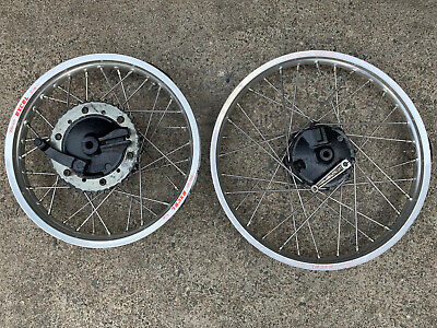 Yamaha It200 1984 1985 43g Excel Takasago Wheels Drum Front and Rear Vmx Vinduro