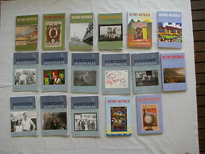 24 Journal On Australian History By Historical Association And Society Bulk Lot